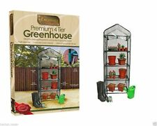 Brand New Kingfisher Gardening - 4 Tier Greenhouse Grow House for Garden Plants