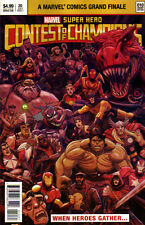 CONTEST OF CHAMPIONS (2015) #10 Marco D'Alfonso VARIANT Cover