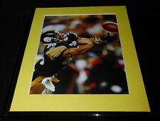 Hines Ward Diving for a Catch Framed 11x14 Photo Display Steelers