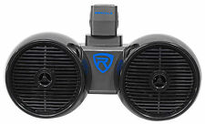 "Rockville DWB65B Dual 6.5"" Black 600 Watt Marine Wakeboard Tower Speaker System"