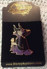Disney Auctions Sleeping Beauty Maleficent and Diablo Raven Crow pin LE