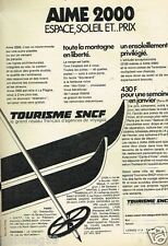 Publicité advertising 1972 Train Tourisme SNCF