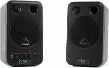 New Behringer MS16 Active Monitor (pair) Buy it Now! Make Offer! Auth Dealer!