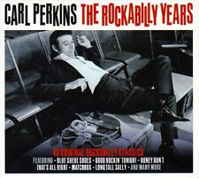 CARL PERKINS - THE ROCKABILLY YEARS  - 40 ORIGINAL  CLASSICS (NEW SEALED 2CD)