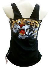 ROCKABILLY PUNK ROCK BABY Tiger ViP TANK-TOP SHIRT L/XL