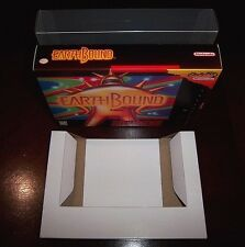 Custom EarthBound Game Box + Cardboard Insert and Plastic Protector