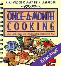 Once-a-Month Cooking Mimi Wilson Paperback