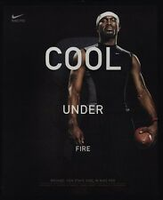 2004 MICHAEL VICK - Cool Under Fire - NIKE - EAGLES - Football  VINTAGE AD
