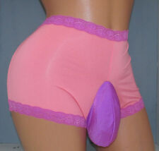 Plus Size Maidenform  SISSY POUCH PANTIES Crossdress for Men Sz 32-48 2X