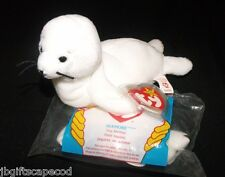 SEAMORE THE SEAL W/ TEENIE 1993 - RARE - COLLECTIBLE - MWMT - 4 G/3G - PVC- LQQK