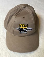 Embroidered Baseball Cap Good Guys NAPA Auto Parts Beige Adult Size Adjustable
