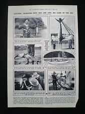 SWORDFISH BIG GAME FISHING WITH ROD & LINE RUSSELL NEW ZEALAND 1pp ARTICLE 1925