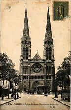 CPA PARIS 19e - Eglise de St-Jean-Baptiste de Belleville (301939)