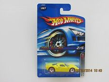 Hot Wheels 2006 FORD GT40 RED LINE YELLOW CARS B-OO