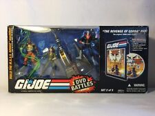 GI Joe 2008 DVD BATTLES PACK MASS M.A.S.S. DEVICE #2 Revenge of Cobra MISB