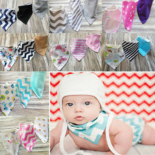 Wholesale 3Pcs Baby Saliva Towel Bandana Bibs Dribble Triangle Kids Head Scarf