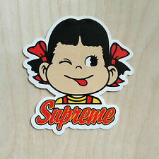 Supreme sticker vinyl decal skateboard candy girl tongue cartoon cute anime SK8