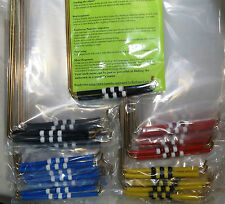 2 Dozen wholesale L-RODS dowsing diving Ghost tours haunted houses MOST popular