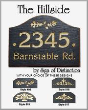 Natural Slate Loaf Address Marker Hillside Personalized Plaque Sign Ships FREE!