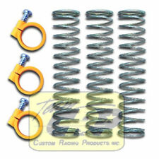 13mm SPRINGS and CLAMPS  Tamiya The Fox Damper Shock Coils RC  Team CRP 1611