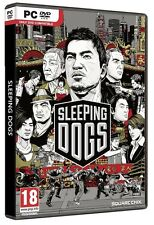 SLEEPING DOGS HARD COPY for PC VISTA/7 SEALED NEW