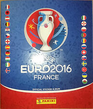 ALBUM VACIO EMPTY BINDER UEFA EURO 2016 FRANCE STICKERS PANINI NEW FREE VERSION