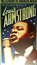 The WONDERFUL WORLD of LOUIS ARMSTRONG BOX SET 57 Songs 2-CDs 1-DVD SEALED