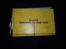 Vintage Kodak Transparent Oil Color Outfit (photo coloring kit, retouching)