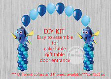 Disney Finding Dory Movie BALLOON ARCH with COLUMNS Birthday Party Decorations