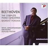 Beethoven Complete Piano Concertos Perahia Haitink Royal Concertgebouw Sony 3 CD
