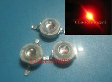 1W 620-625NM High Power Red 1Watt LED Light Emitter diodes  100PCS