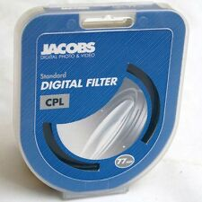 Jacobs Digital 77mm CPL Circular Polariser Filter UK B&W Hoya CIR-PL