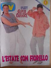 TV Sorrisi e Canzoni n°26 1994 Fiorello Karaoke - VASCO ROSSI il ritorno  [D42]