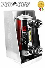 AN -6 (6AN AN6) Single Facet Red Top Fuel Pump Banjo Assembly In Black