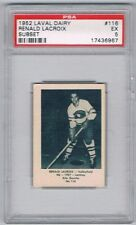 1952 Laval Dairy Subset Hockey Card Valleyfield #116 Renald Lacroix Graded PSA 5
