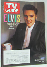 TV Guide May 8-14 2005 Elvis Presley Week 1956 Tour Collectible