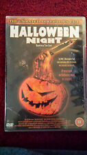 Halloween Night (DVD) Rare Slasher Horror DVD