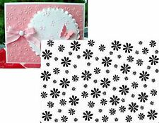 DAISY embossing folders Crafts Too DAISIES Flowers CTFD3004 Cuttlebug Compatible