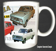 VAUXHALL VIVA HA CLASSIC CAR MUG LIMITED EDITION 2010