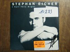 STEPHAN EICHER 45 TOURS FRANCE I TELL THIS NIGHT