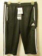 Adidas Condivo 12 3/4 Pants Shorts Black Women's Small (Men's X Small) NWT