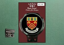 Royale Classic Car Badge & Bar Clip COUNTY OF GLOUCESTERSHIRE B1.1147