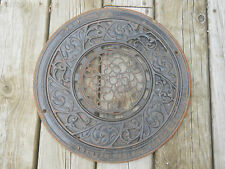 Antique Cast Iron Floor Vent Wall Grate Heat Register Stover Mfg Co. Freeport IL