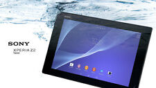 "SONY XPERIA Z2 TABLET Wi-Fi SGP512 32GB Black 3GB 2.3GHz QC 10"" Android 4.4 LNIB"