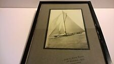 Historic photo 1925 H.M. George V Kings yacht at Cowes Solent nautical monarchy