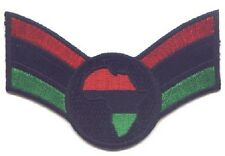 "RASTA Africa Map (RBG) in (RBG) Embroidered Patches 2.5""x3.8"""