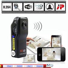 New Wifi IP H.264 HD 720P Wireless Security Camera Hidden Spy Video Recorder