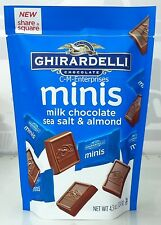 Ghirardelli Chocolate Minis Milk Chocolate Sea Salt & Almond 4.3 oz