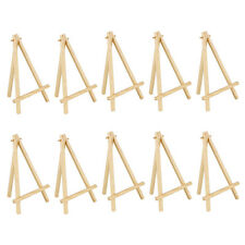 10pcs Wood Crafts Arist Easel for Artwork Display Drawing Boards Mini Portable