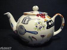 Heron Cross Pottery Baking Days  English 3 Cup Tea Pot or 2 mugs
